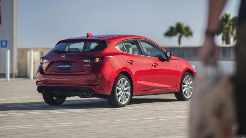 Nuevo Mazda3 2017 trasera