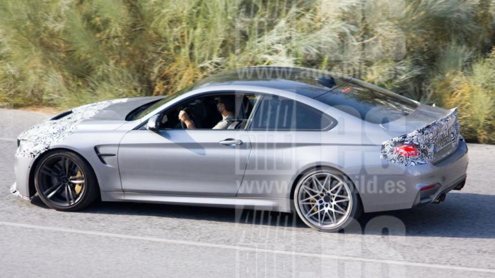 BMW M4 Coupé 2017 fotos espía