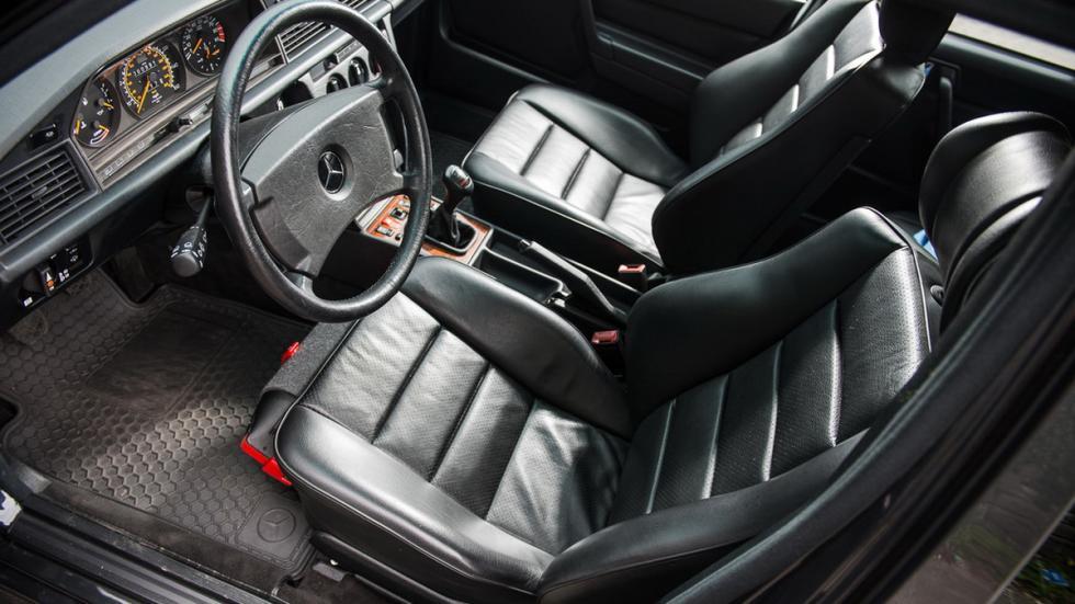 subasta Mercedes 190 E 2.5-16 Evolution II interior