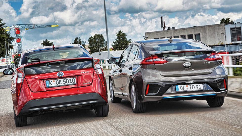 Toyota Prius/Hyundai Ioniq