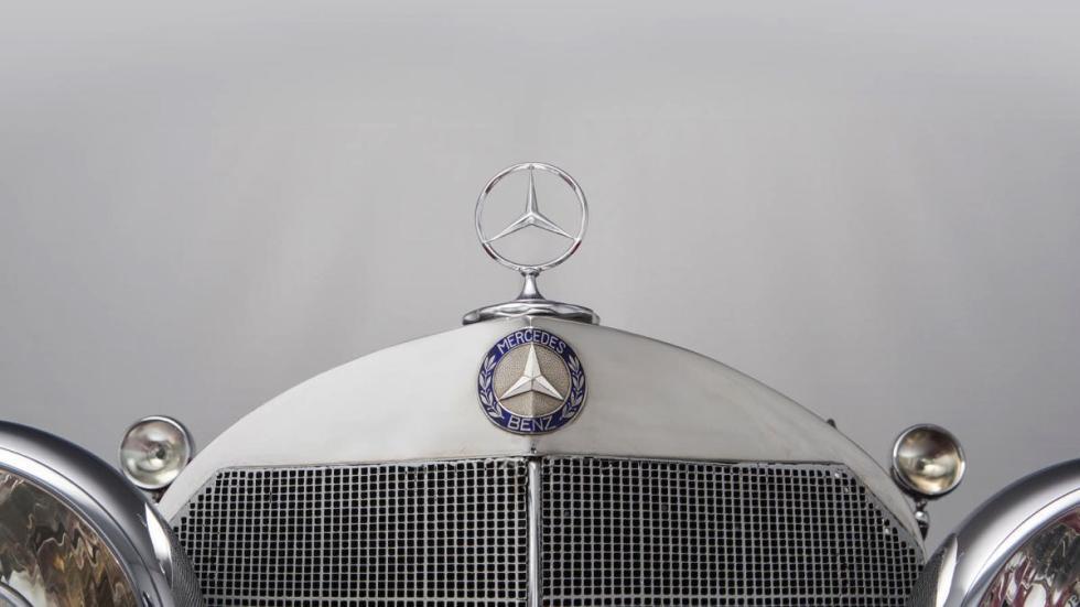 Mercedes 500K emblema
