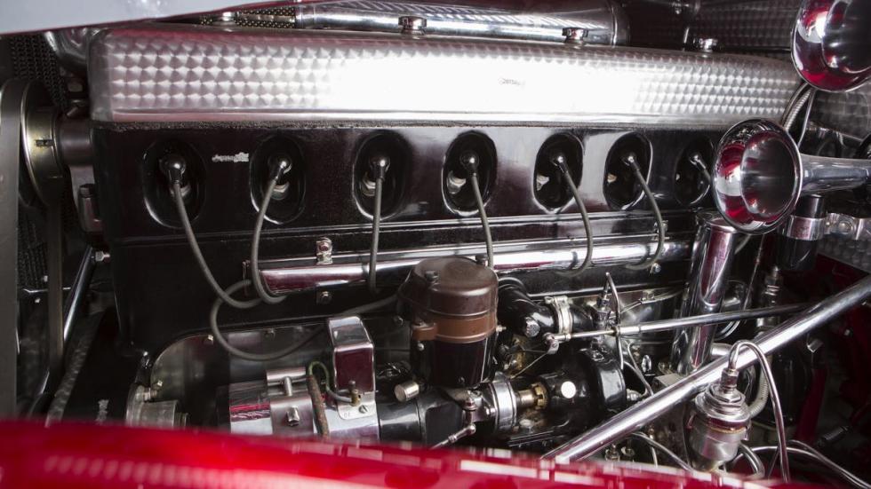 Mercedes 500K motor