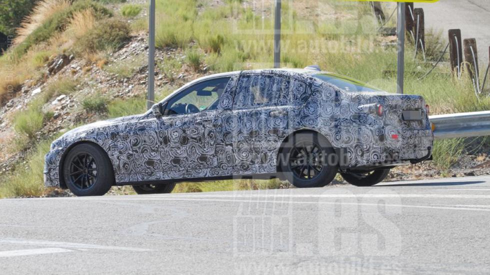 Fotos espía BMW Serie 3 2018 lateral