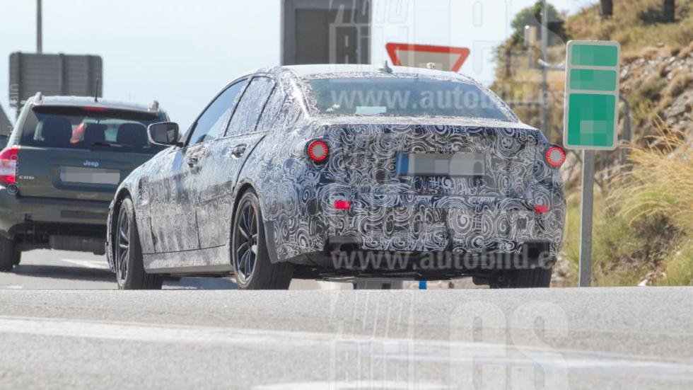Fotos espía BMW Serie 3 2018 zaga