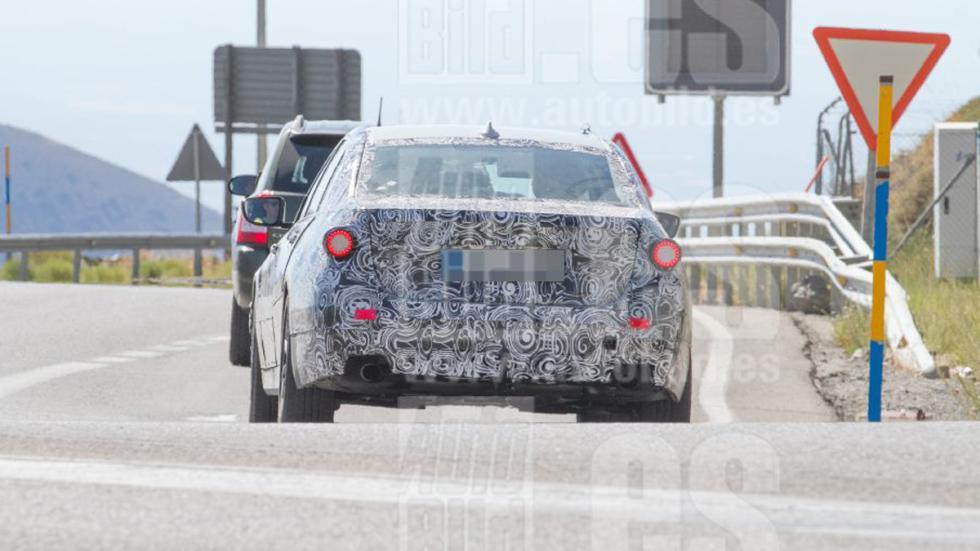 Fotos espía BMW Serie 3 2018 trasera