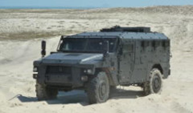 vehiculo militar sherpa