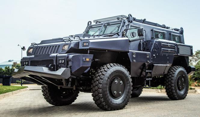 vehiculo militar marauder