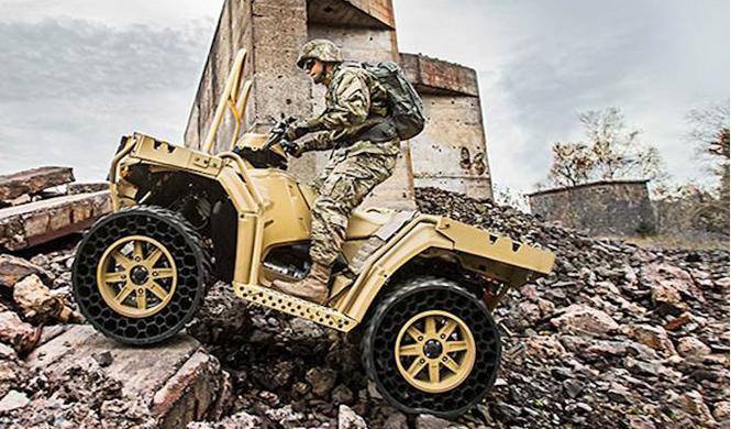 vehiculo militar polaris
