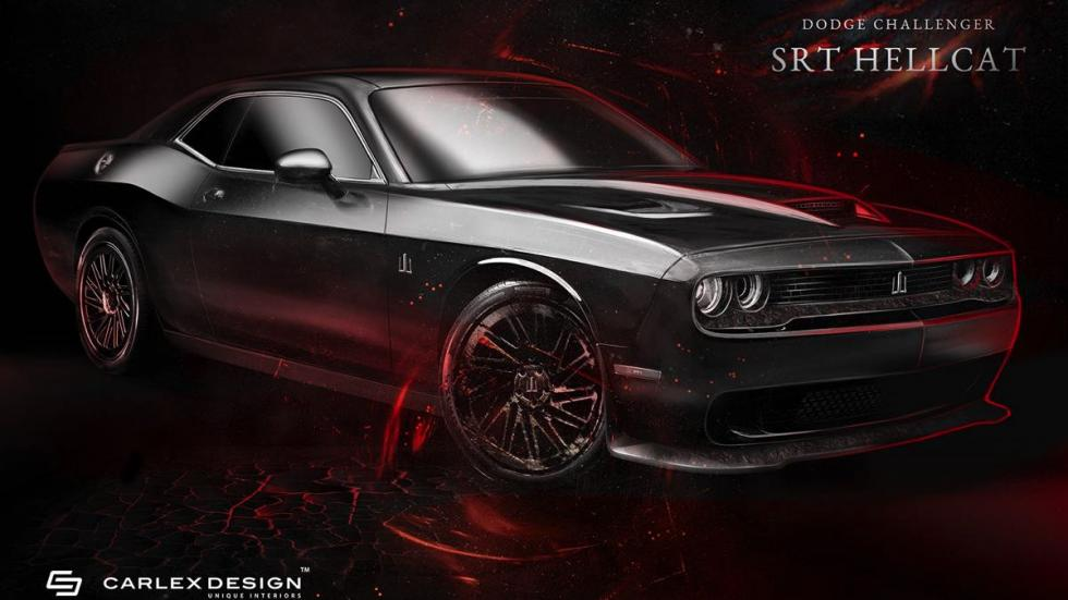 Carlex Design Dodge Challenger Hellcat Project