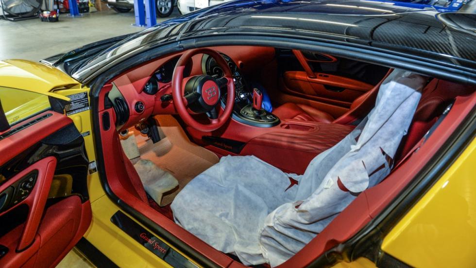 Bugatti Veyron Grand Sport Bumblebee