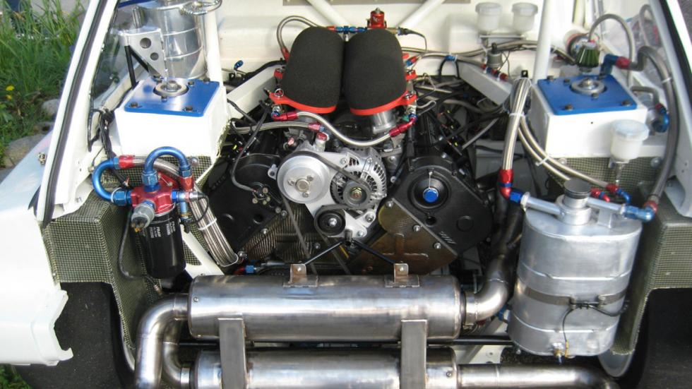 MG Metro 6R4 Colin McRae motor