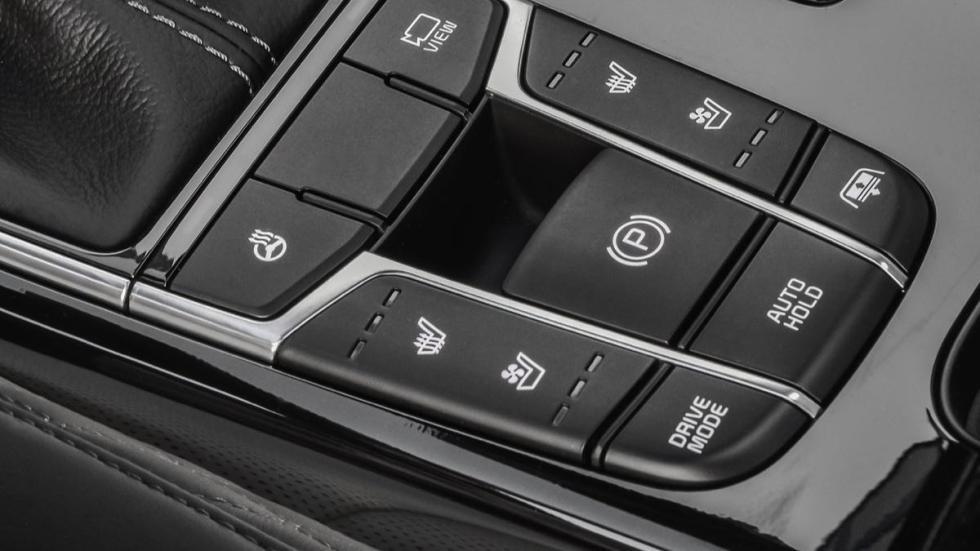 Kia Cadenza 2017 botones