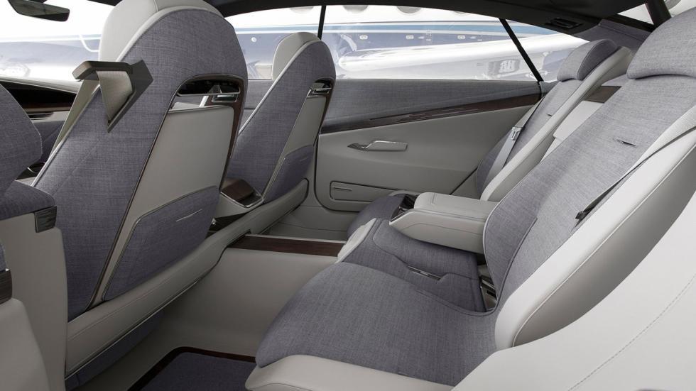 Cadillac Escala Concept asientos traseros