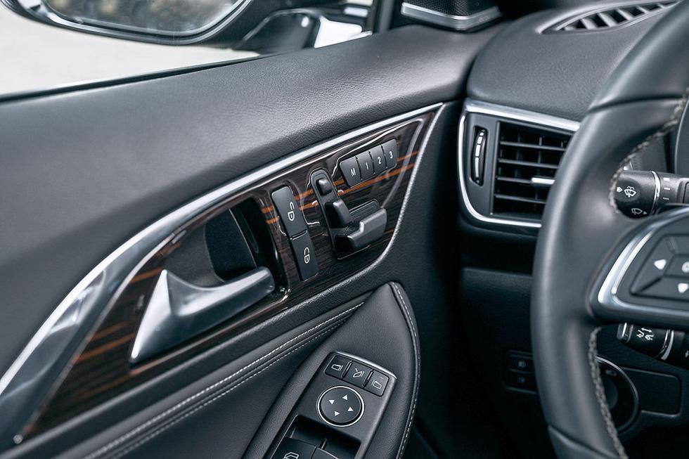 Prueba: Infiniti QX30 interior