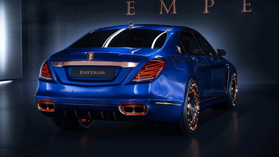 Mercedes-Maybach Emperor I by Scaldarsi Motors