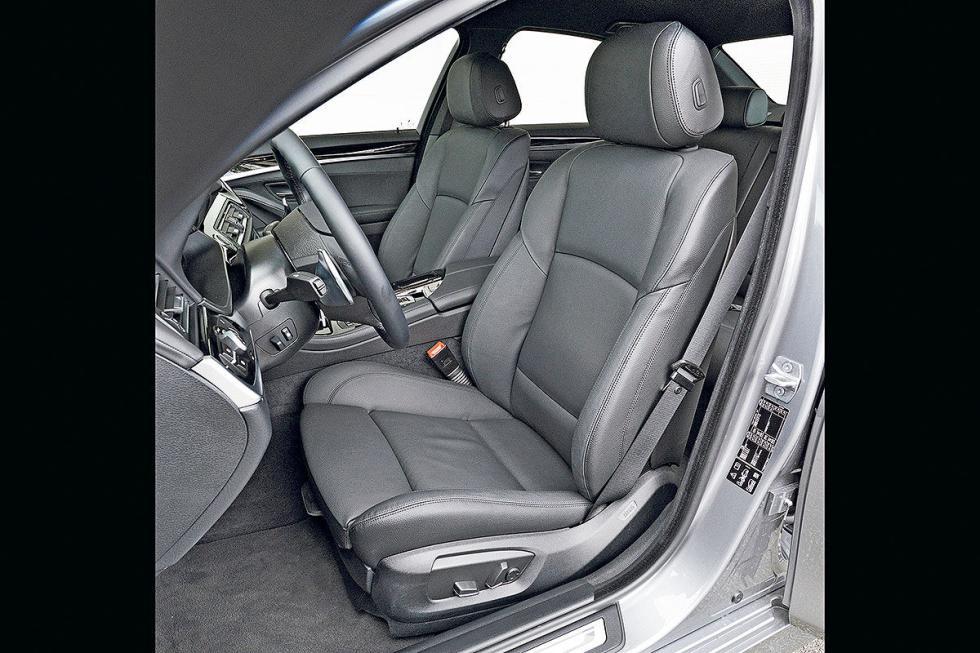 BMW Serie 5 asientos