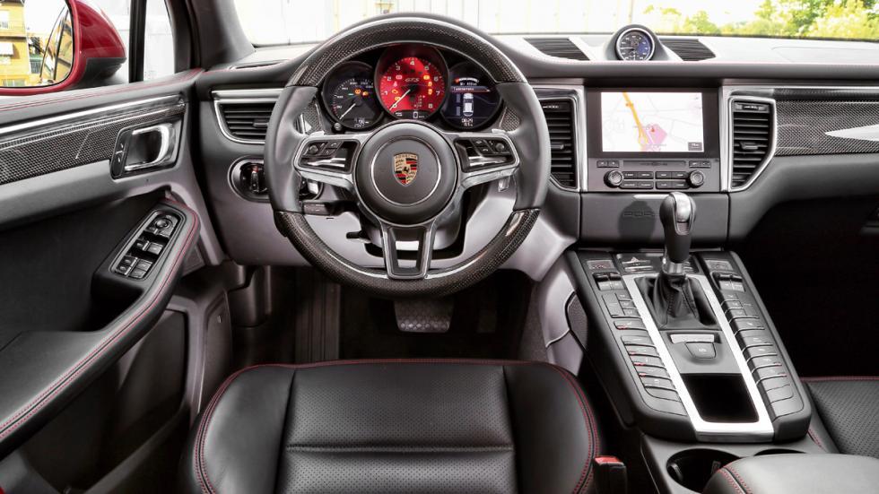 Prueba Porsche Macan GTS interior
