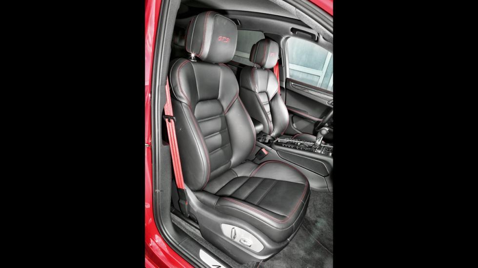 Prueba Porsche Macan GTS asientos