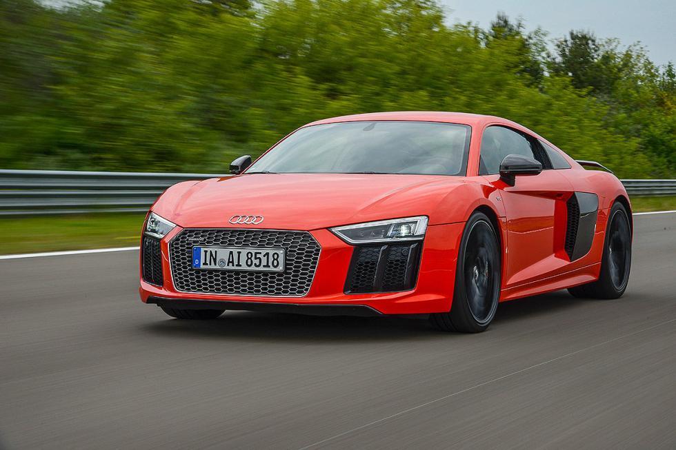 Audi R8 V10 Plus zaga morro