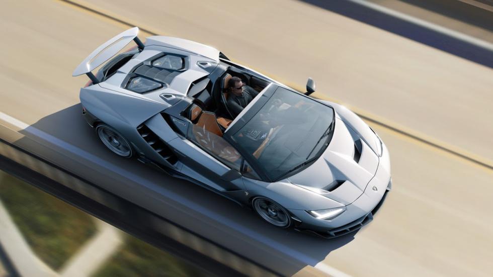 Lamborghini Centenario Roadster techo