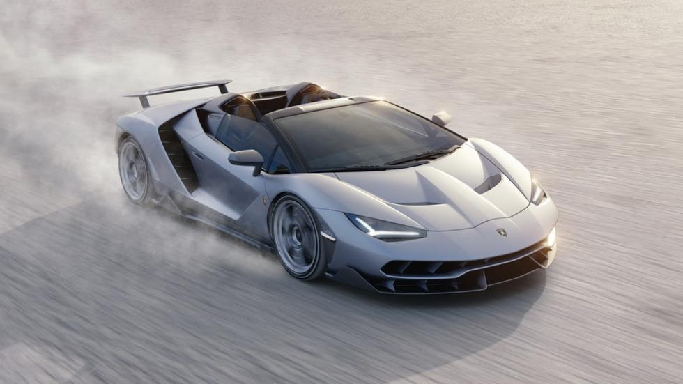 Lamborghini Centenario Roadster delantera
