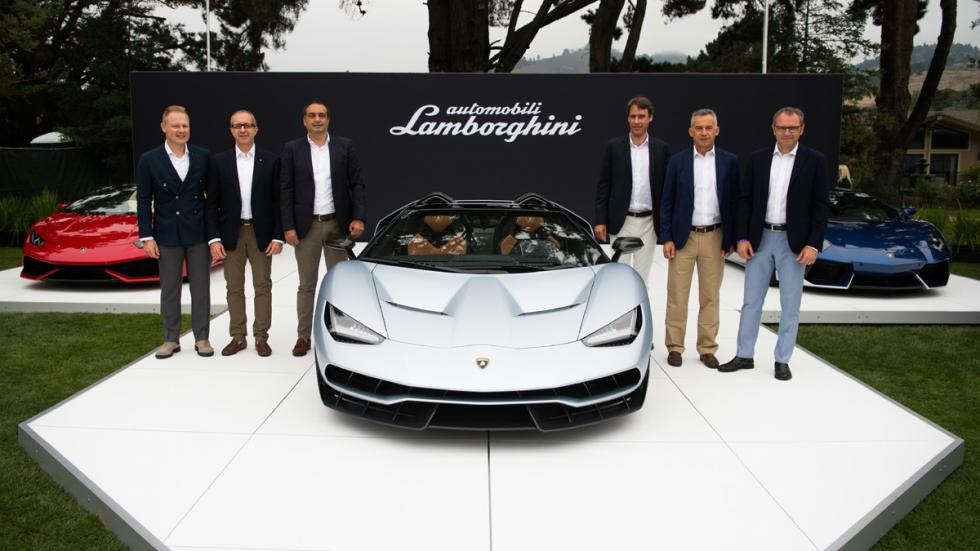 Lamborghini Centenario Roadster presentación