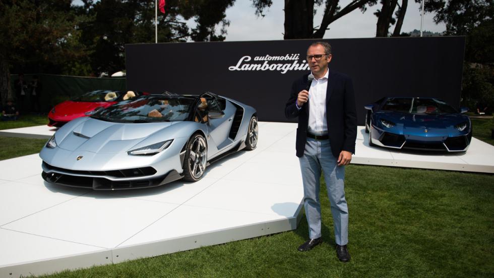 Lamborghini Centenario Roadster presidente