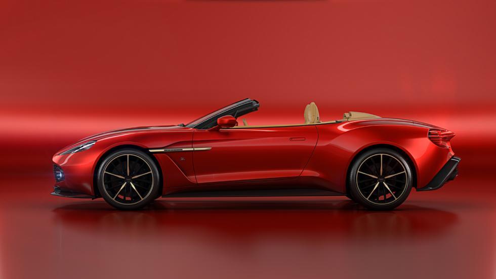 Aston Martin Vanquish Zagato Volante perfil