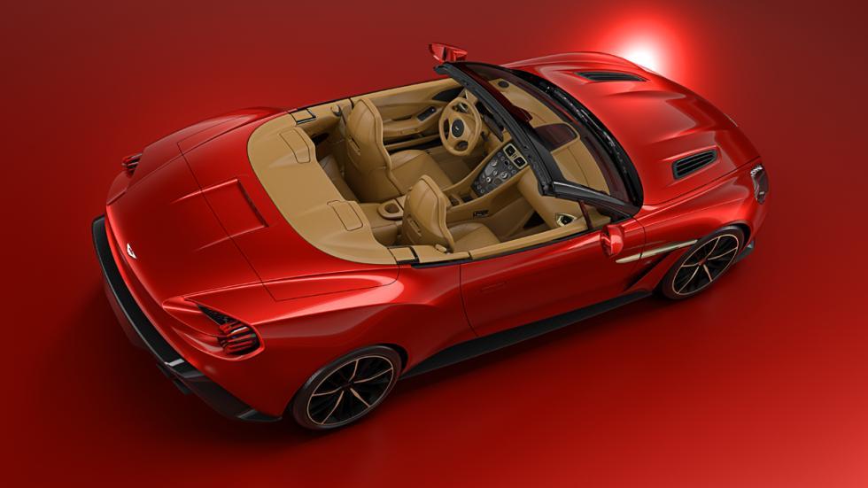Aston Martin Vanquish Zagato Volante trasera