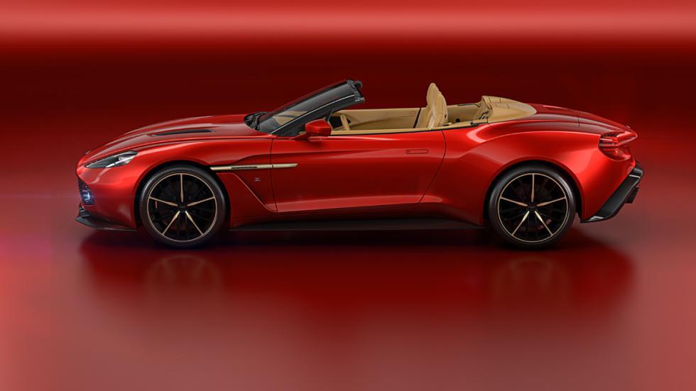 Aston Martin Vanquish Zagato Volante lateral