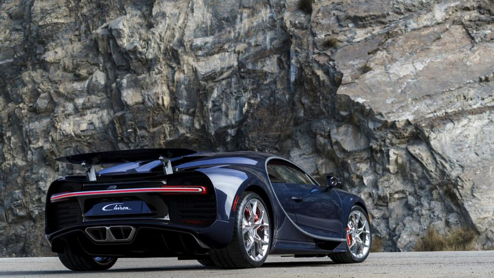 Bugatti Chiron Pebble Beach zaga