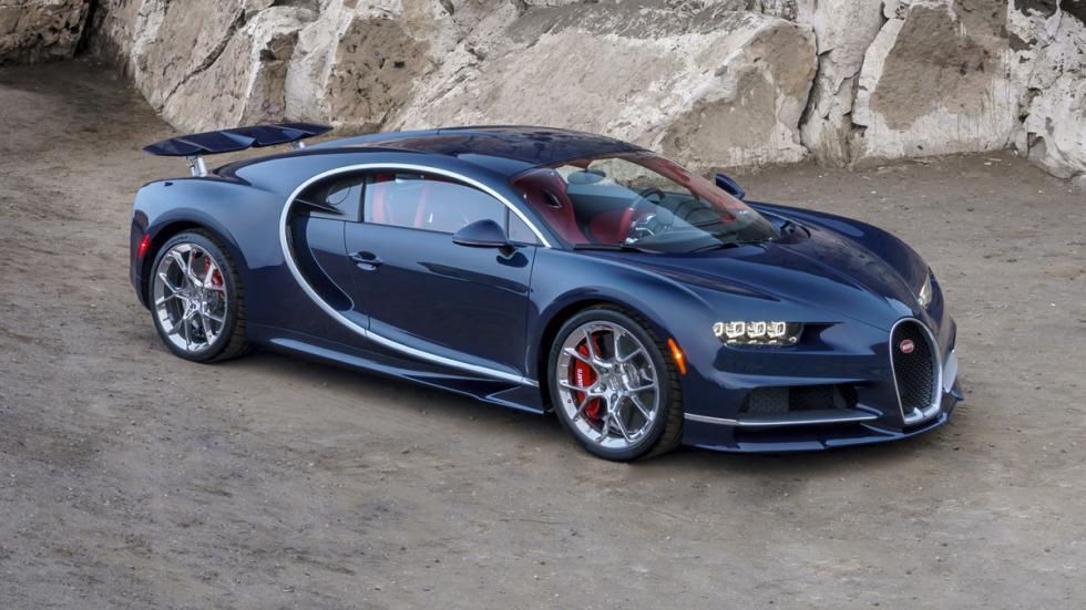 Bugatti Chiron Pebble Beach delantera