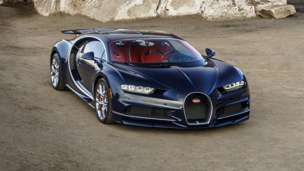 Bugatti Chiron Pebble Beach frontal