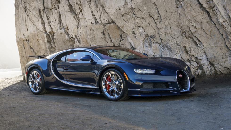 Bugatti Chiron Pebble Beach delantera estática
