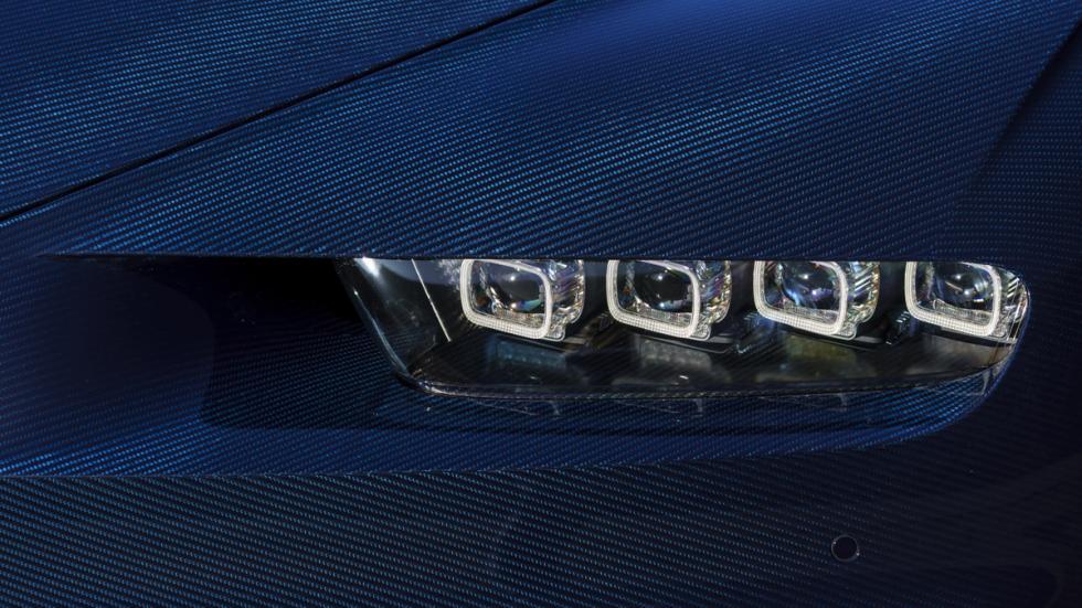 Bugatti Chiron Pebble Beach faro