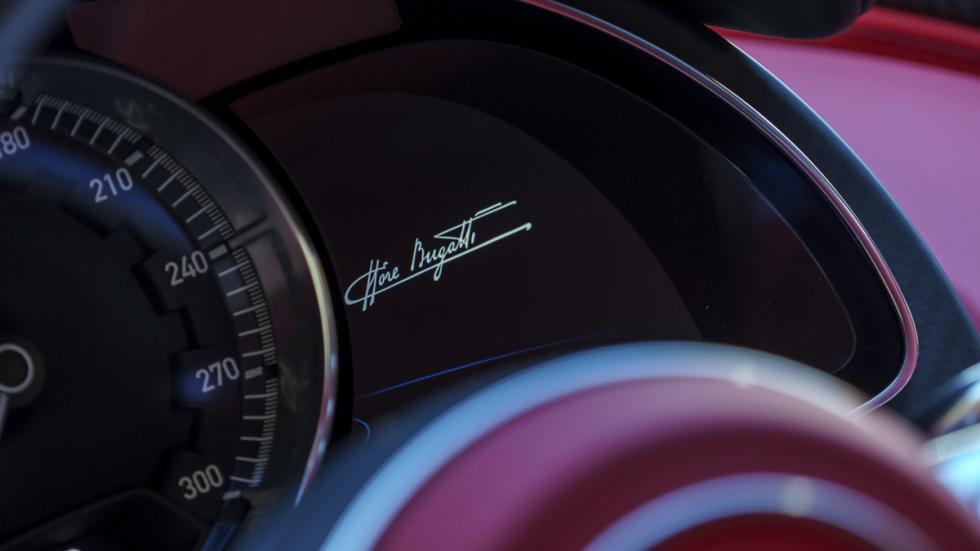 Bugatti Chiron Pebble Beach cuadro
