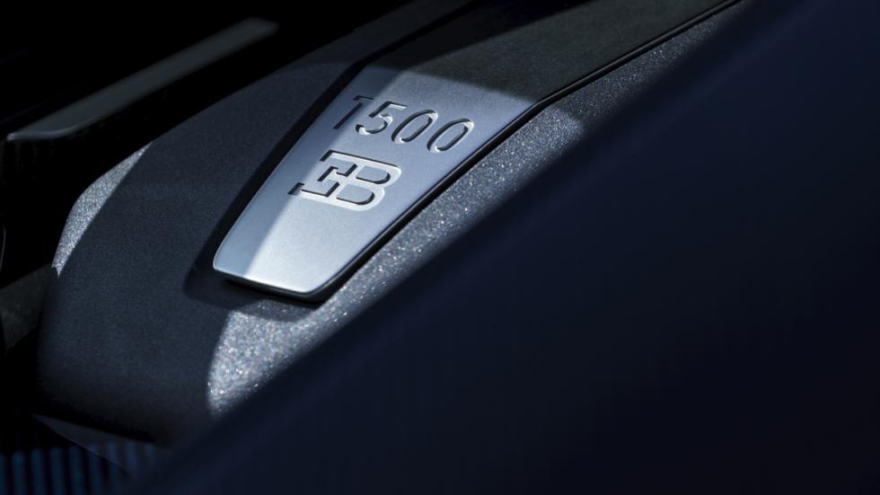 Bugatti Chiron Pebble Beach detalle motor