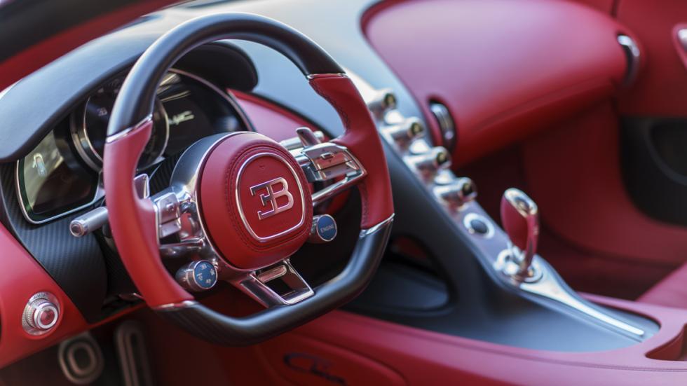 Bugatti Chiron Pebble Beach salpicadero