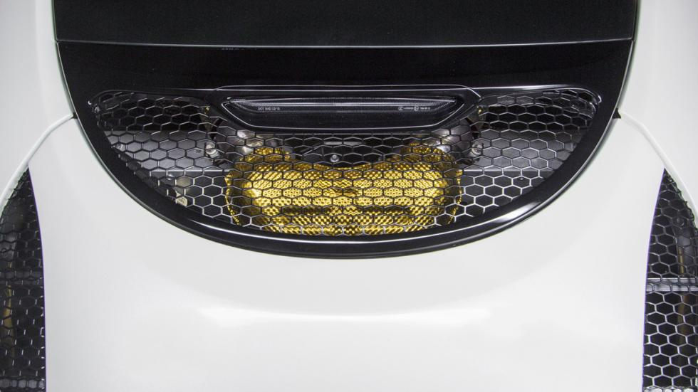 McLaren 570GT MSO Concept detalle dorado