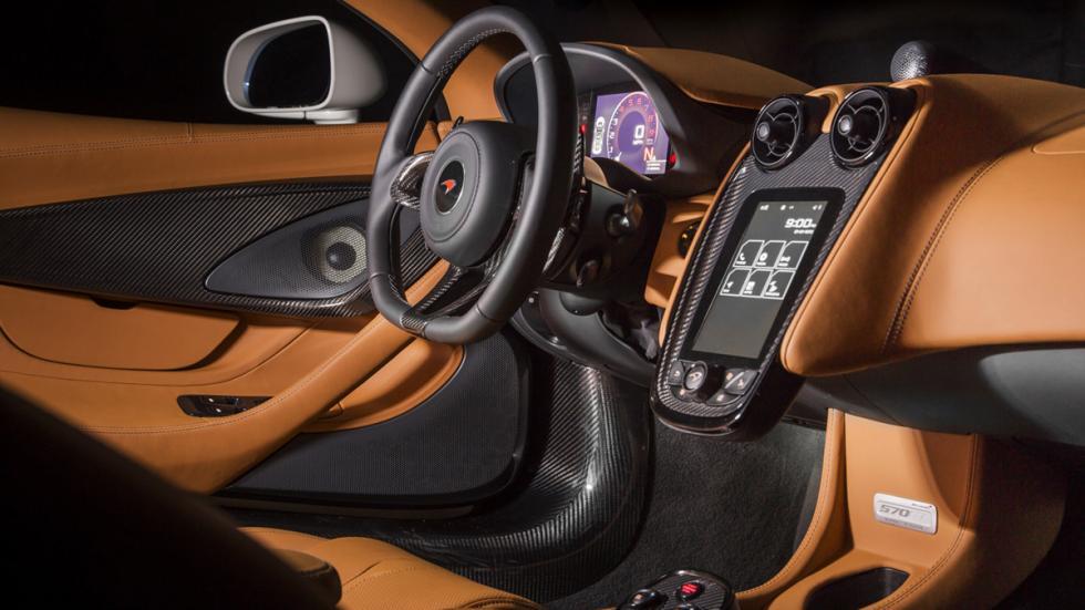 McLaren 570GT MSO Concept salpicadero