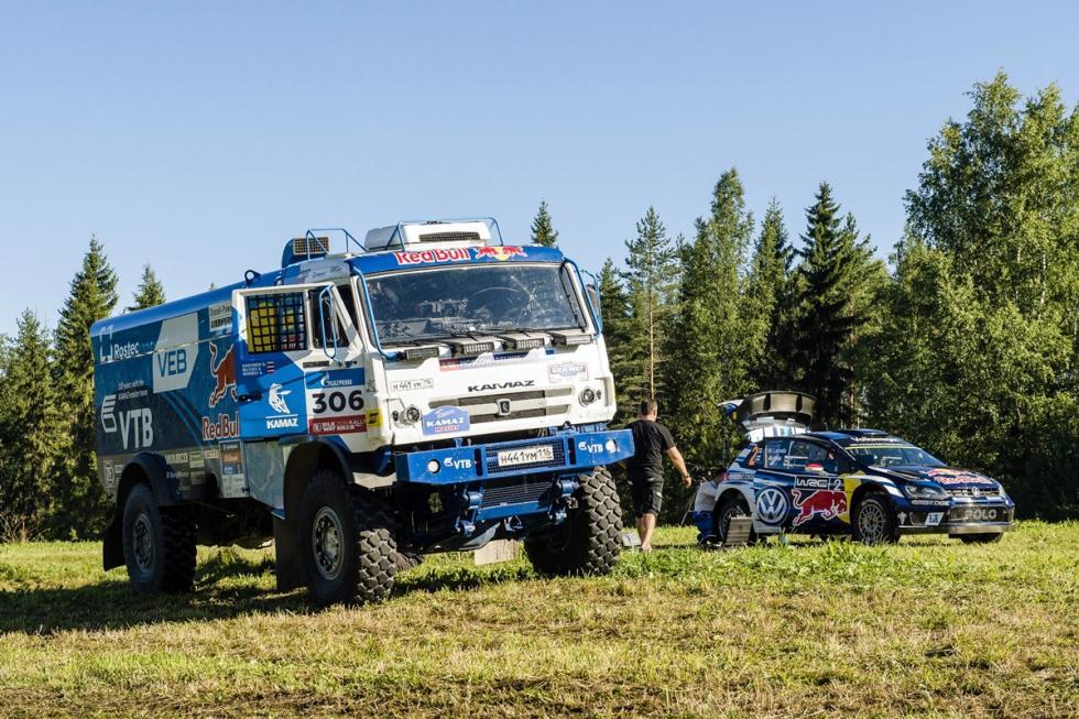 camion-kamaz-dakar-volkswagen-polo-wrc