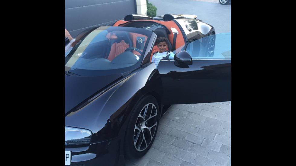 CR7: su Bugatti Veyron