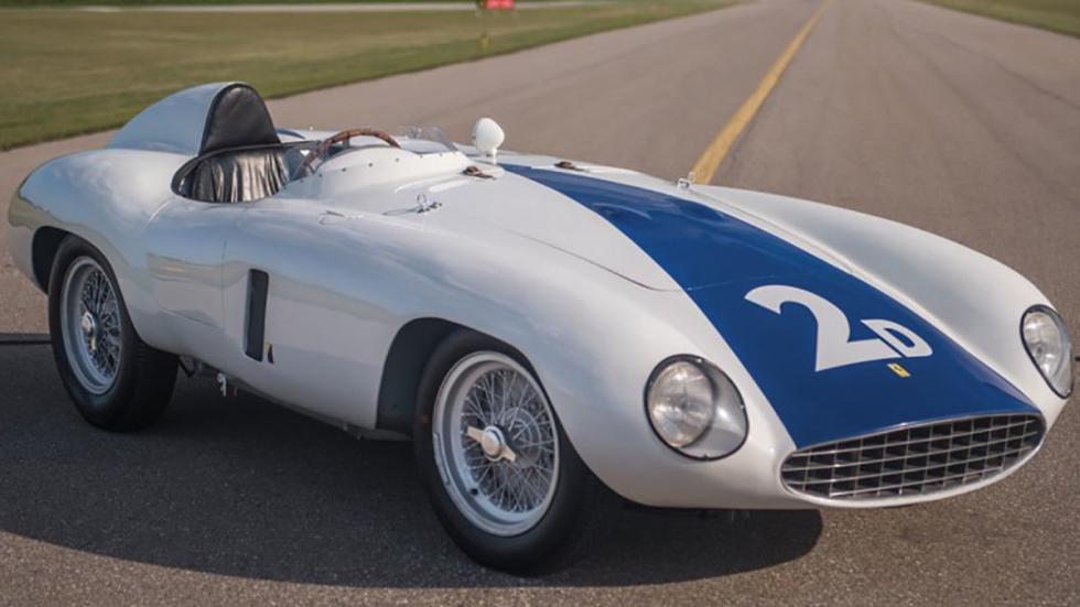 coches-más-caros-subastados-monterey-Ferrari-750-Monza-Spider-1955