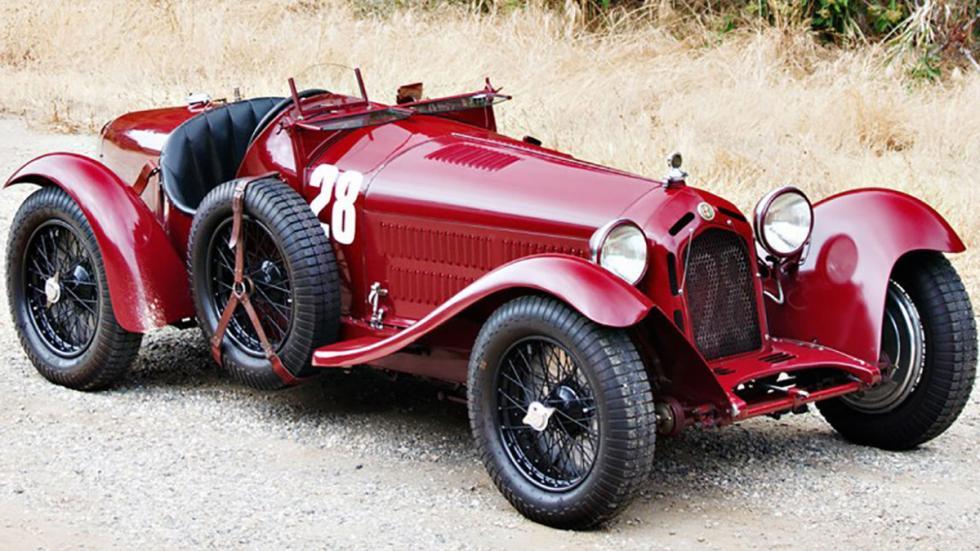 coches-más-caros-subastados-monterey-Alfa-Romeo-8C-2300-Monza-Roadster-1933
