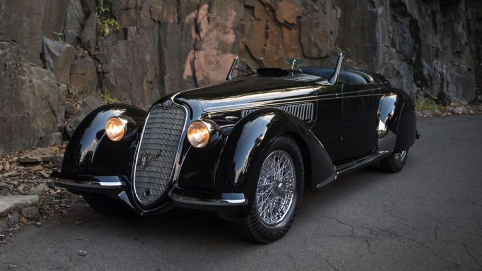 coches-más-caros-subastados-monterey-Alfa-Romeo-8C-2900B-Lungo-Spider-1939