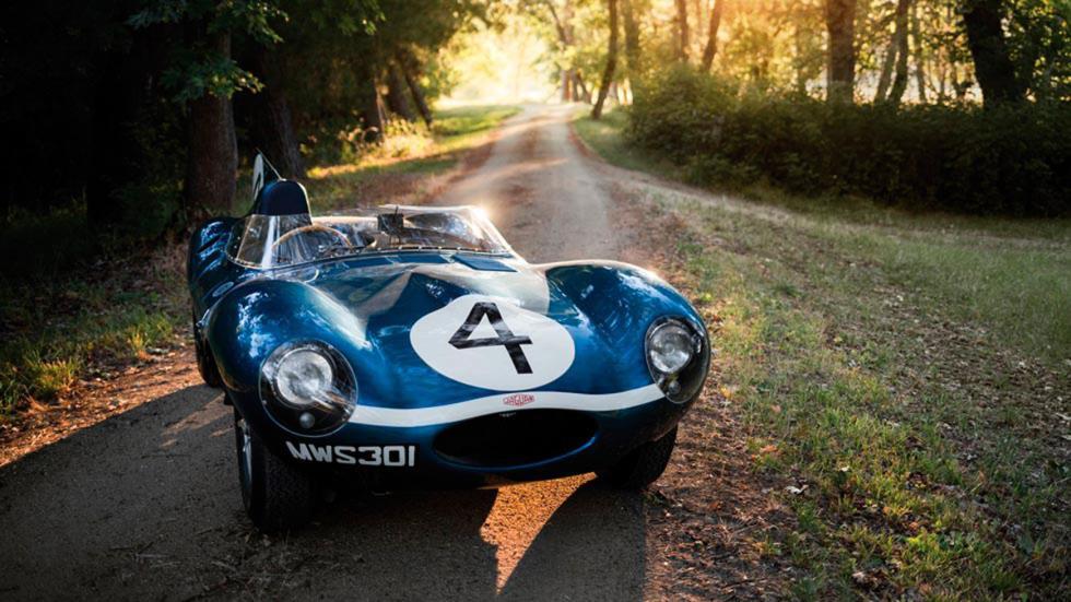 coches-más-caros-subastados-monterey-Jaguar-D-Type-Roadster-1955