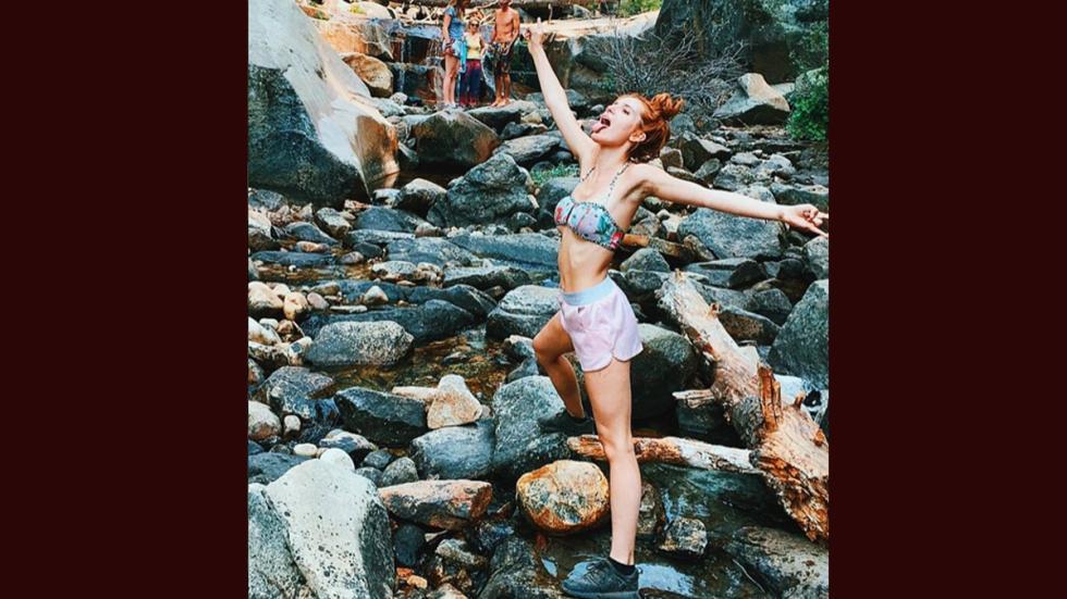 La actriz Bella Thorne. Foto: Instagram.