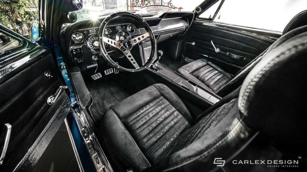 Ford Mustang by carlex design asientos delanteros