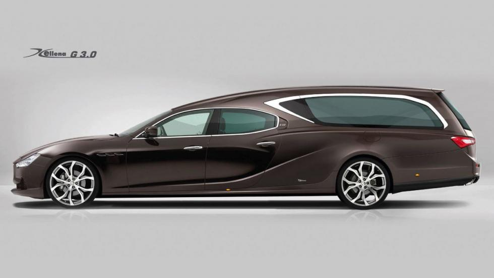 Maserati Ghibli fúnebre 4