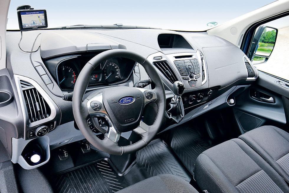 Prueba: Ford Transit facelift 2016 detalle interior